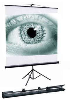 Екран для проектора на тринозі переносний 180*180 SRM-1102  IS