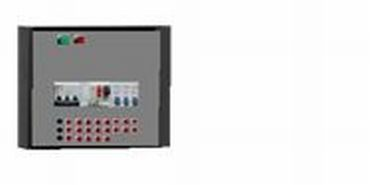 EEL-3812Панель з перемикачем однофазного живлення