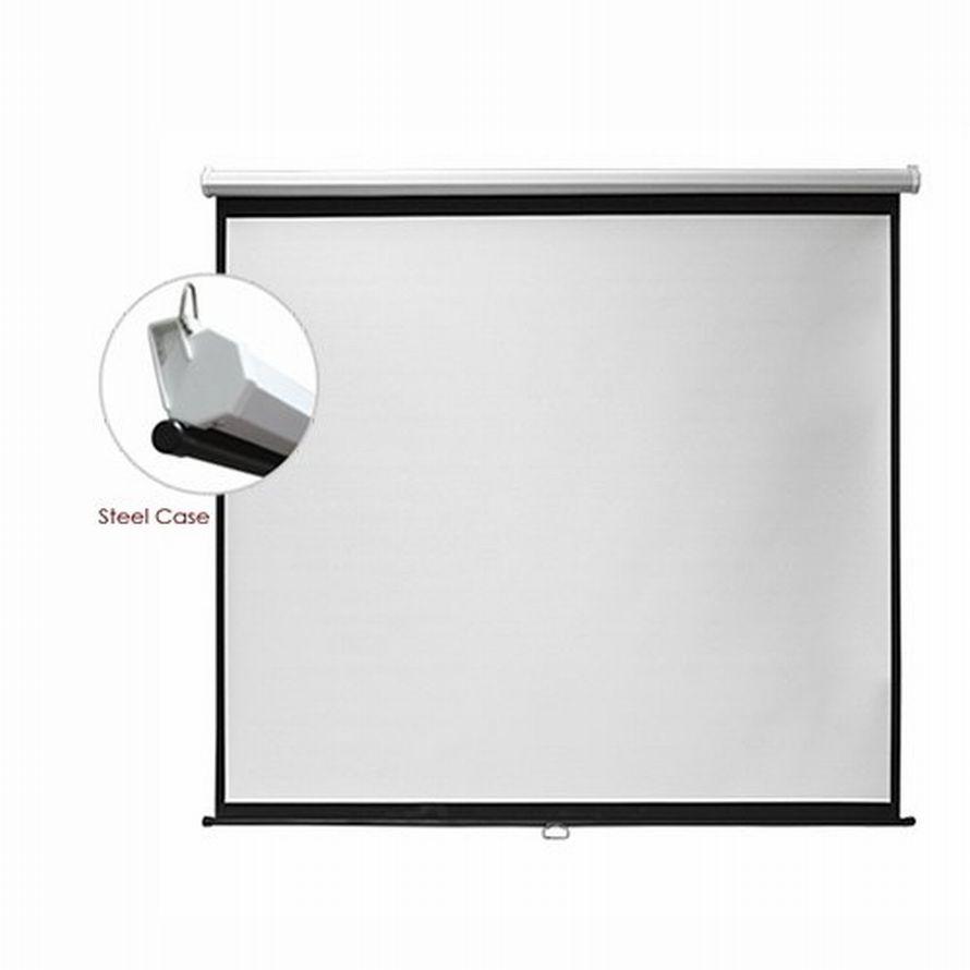 Екран для проектора настінний 150*150 ESBB84(1:1).