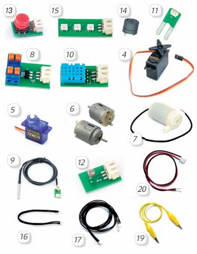 STEM-лабораторія micro-bit. Повний комплект