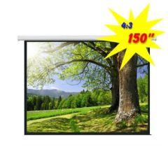 Экран для проектора моторизированный 300*220 PSAC150 (4:3)