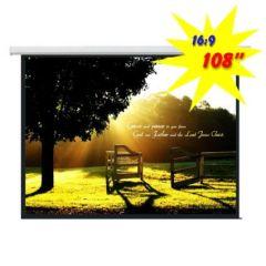 Экран для проектора моторизированный 240*135 PSAA108 (16:9)